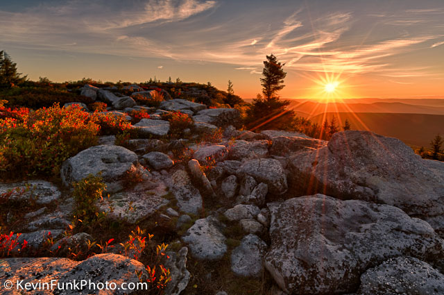 Bear Rocks Dolly Sods Wilderness West Virginia
